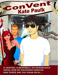 ConVent Original eBook Cover, written by Kate Paulk