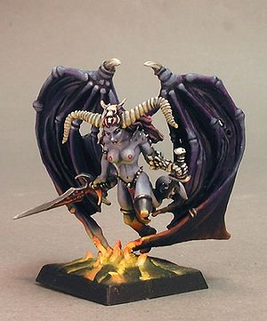 Ashakia: Darkspawn Figurine by Reaper Miniatures