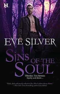 Sins of the Soul Book Cover, written by Eve Silver