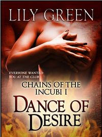 Dance of Desire eBook Cover, written by Lily Green