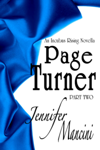 Page Turner eBook Cover, written by Jennifer Mancini