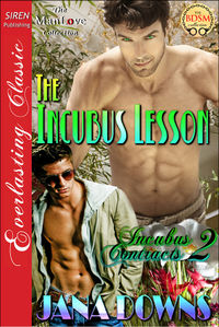 The Incubus Lesson eBook Cover, written by Jana Downs