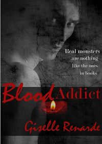 Blood Addict eBook Cover, written by Giselle Renarde