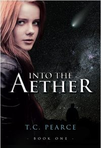 Into the Aether eBook Cover, written by T. C. Pearce