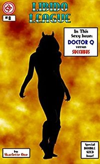 Doctor Q vs. Succubus eBook Cover, written by Skarlette One