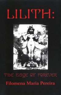 Lilith: The Edge of Forever Book Cover, written by Filomena Maria Pereira