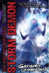 Storm Demon Book Cover, written by Gregory Lamberson