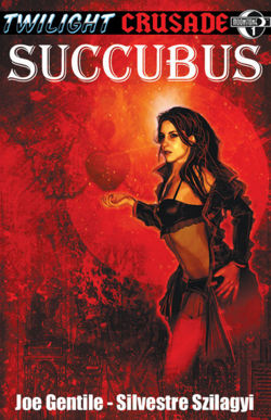 Twilight Crusade: Succubus Graphic Novel Book Cover