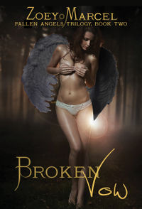 Broken Vow eBook Cover, written by Zoey Marcel