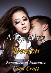 A Tempting Demon eBook Cover, written by Cora Cross