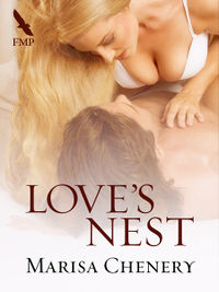 Love's Nest eBook Reissue Cover, written by Marisa Chenery