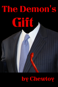 The Demon's Gift eBook Cover, written by Chew Toy