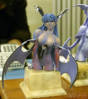 Morrigan Aensland Bust Figurine (Party Yarou Ze!)