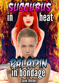 Succubus In Heat, Paladin In Bondage eBook Cover, written by Jane Amber