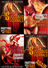 The Succubus Journals Books 1-4 eBook Cover, written by Monique Reyer