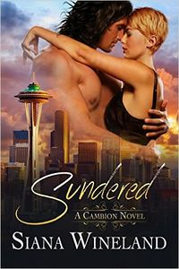 Sundered eBook Cover, written by Siana Wineland