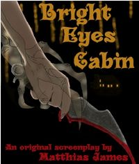 Bright Eyes Cabin eBook Cover, written by Matthias James