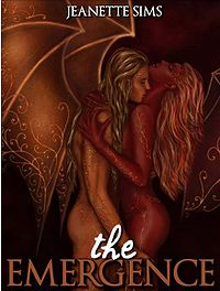 The Emergence: A Succubus Tale eBook Cover, written by Jeanette Sims