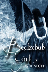 Beelzebub Girl Book Cover, written by Jayde Scott