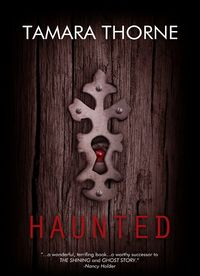 Haunted Revised eBook Cover, written by Tamara Thorne