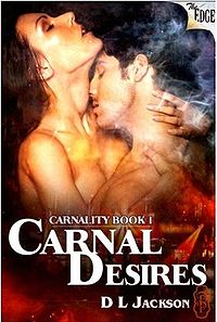 Carnal Desires eBook Cover, written by D.L. Jackson
