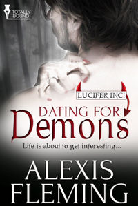 Dating for Demons eBook Cover, written by Alexis Fleming