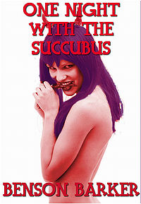One Night With The Succubus eBook Cover, written by Benson Barker
