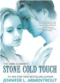 Stone Cold Touch eBook Cover, written by Jennifer L. Armentrout