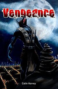 Vengeance Book Cover, written by Colin Harvey