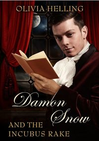Damon Snow and the Incubus Rake eBook Cover, written by Olivia Helling