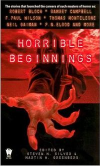 Horrible Beginnings Book Cover, edited by Steven H. Silver and Martin Harry Greenberg