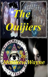 The Ouijiers eBook Cover, written by Matthew Wayne