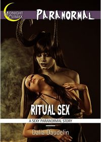 Ritual Sex eBook Cover, written by Dalia Daudelin