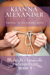 Midnight's Serenade: Phoenix Files Book 3 eBook Cover, written by Kianna Alexander