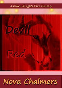 Devil Red eBook Cover, written by Nova Chalmers