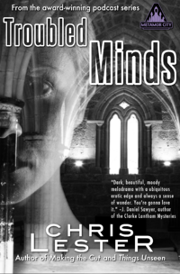 Metamor City: Troubled Minds Revised eBook Cover, written by Chris Lester