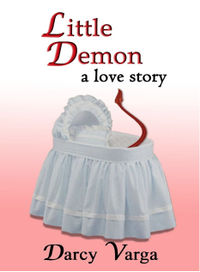 Little Demon Original eBook Cover, written by Darcy Varga