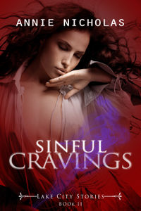 Sinful Cravings eBook Cover, written by Annie Nicholas