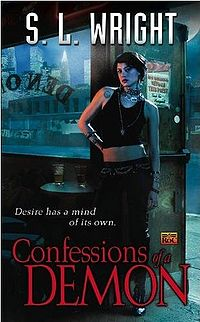 Confessions of a Demon Book Cover, written by Susan Wright