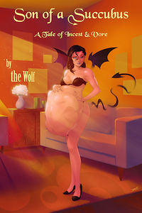Son of a Succubus Revised eBook Cover, written by The Wolf