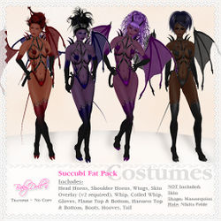 Succubus Costume By BabyDoll LaFontaine