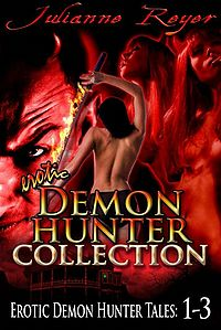 Erotic Demon Hunter Collection eBook Cover, written by Julianne Reyer