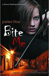 Bite Me eBook Cover, written by Parker Blue
