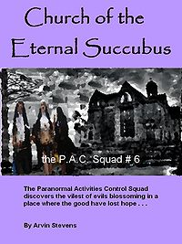 Church of the Eternal Succubus eBook Cover, written by Arvin Stevens