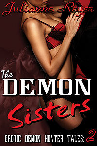 The Demon Sisters eBook Cover, written by Julianne Reyer