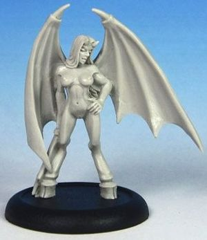 Lyn: Winged Succubus by CMON Miniatures