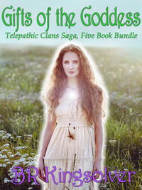 Gifts of the Goddess: Telepathic Clans Saga eBook Cover, written by B. R. Kingsolver