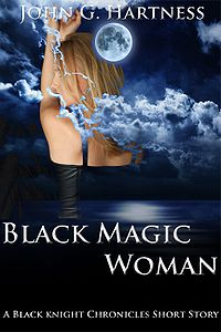 Black Magic Woman eBook Cover, written by John Hartness