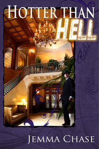 Hotter than Hell eBook Cover, written by Jemma Chase
