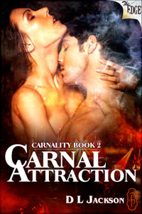 Carnal Attraction eBook Cover, written by D.L. Jackson